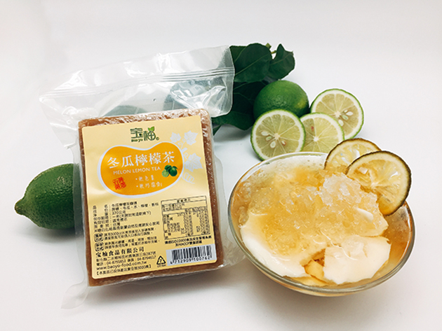 Preserved White Gourd Drink with Lemon 2